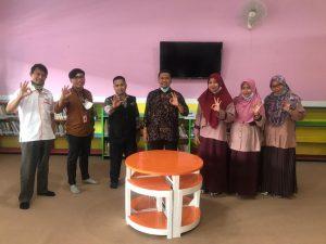 Monitoring Pojok Literasi SMP Mugadeta