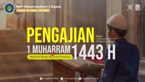 Peringati Tahun Baru 1443 Hijriah, SMP Mugadeta Mengadakan Pengajian Virtual